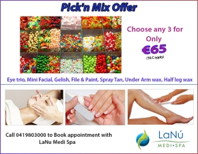 Pick'n Mix Offer - Choose any 3 Treatments of your choice