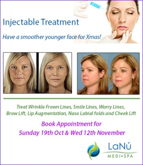 Get Glowing, Smoother and Younger looking Face with Injectable Treatment